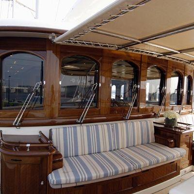 Athena Yacht Sundeck