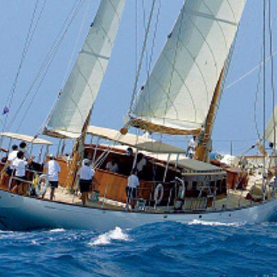Tiziana Yacht Running Shot - Side View