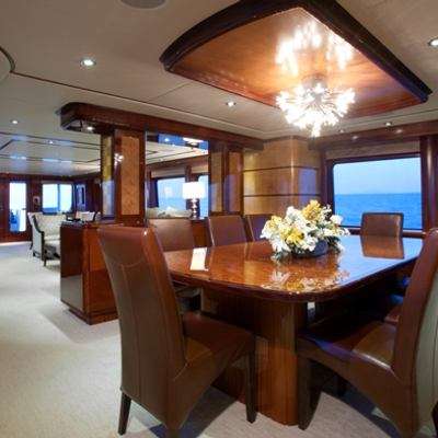 Just Enough Yacht Main Dining