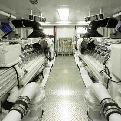 Dream Yacht Engine Room