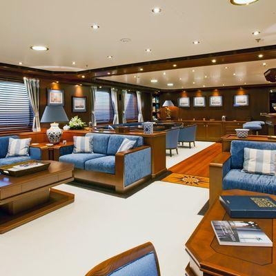 Axantha II Yacht Main Salon