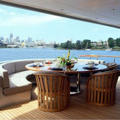 Silver Dream Yacht Deck