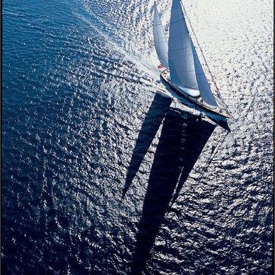 Parsifal III Yacht Turning