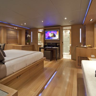 Escape II Yacht Master Stateroom