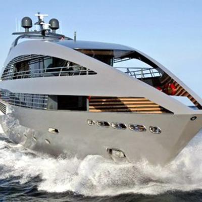 Ocean Emerald Yacht Running Shot