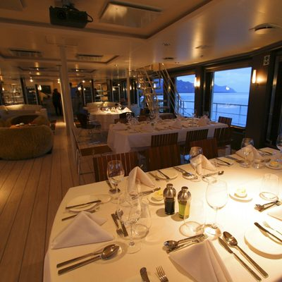 Atmosphere Yacht Dining Salon