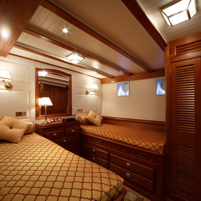 Elena Yacht Twin Stateroom - View