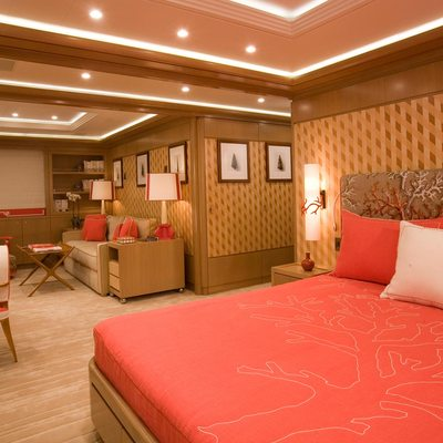 Alfa Nero Yacht Guest Stateroom