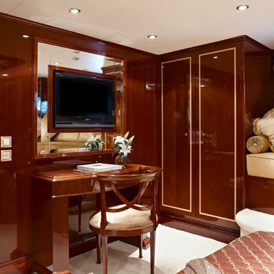 Iraklis L Yacht Guest Stateroom - Detail