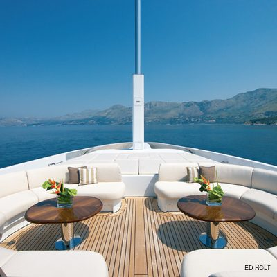 Andreas L Yacht Foredeck