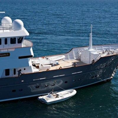 Axantha II Yacht Launching the Tender