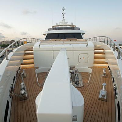 Tatiana Yacht Deck View