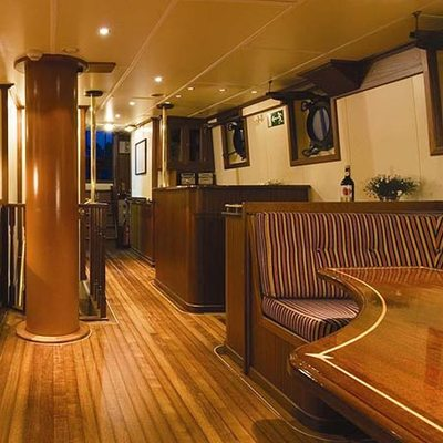 Adornate Yacht Main Salon Seating