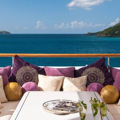 Solandge Yacht Seating On The Sundeck