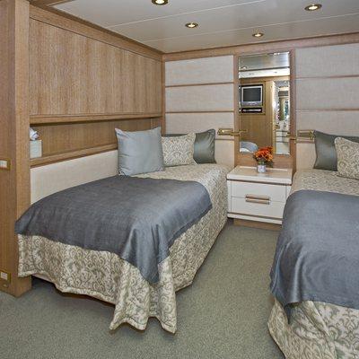 Te Manu Yacht Twin Stateroom