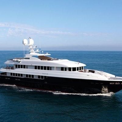 Zaliv III Yacht Running