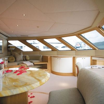 Lazy Z Yacht Master Stateroom - Panoramic View