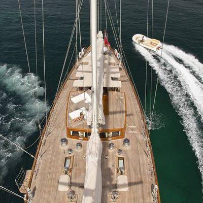 Gweilo Yacht Overhead - Deck