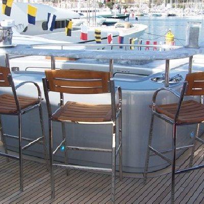 Annamia Yacht Exterior Bar