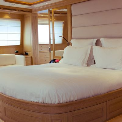 African Queen Yacht Guest Stateroom