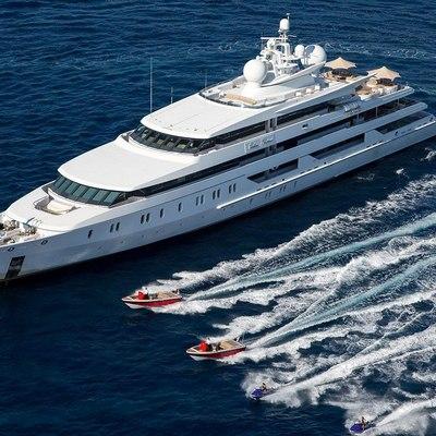 Neom Yacht Running shot with tenders