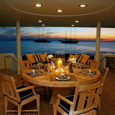 Endless Summer Yacht Main Deck Dining