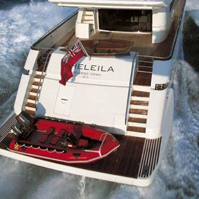 Sheleila Yacht Stern