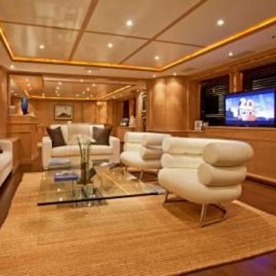 African Queen Yacht Main Saloon