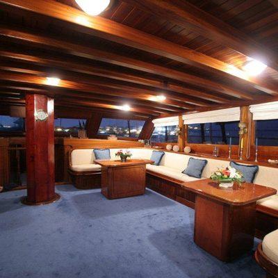 Matina Yacht Main Salon