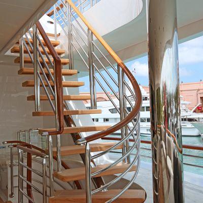 Carpe Diem Yacht Exterior Staircase