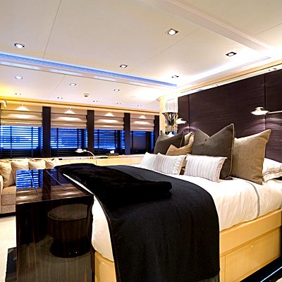 G Force Yacht Master Stateroom
