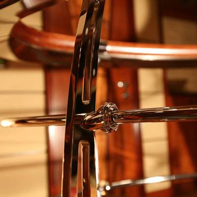Usher Yacht Detail - Staircase