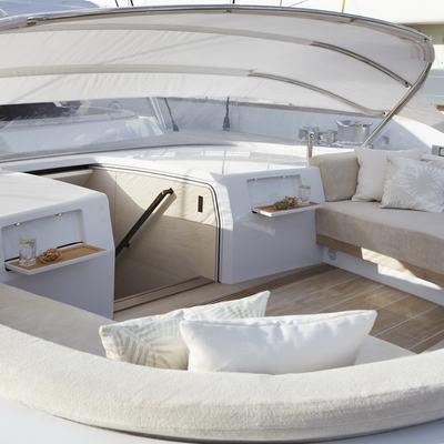 Twizzle Yacht Cockpit with Dodger Raised