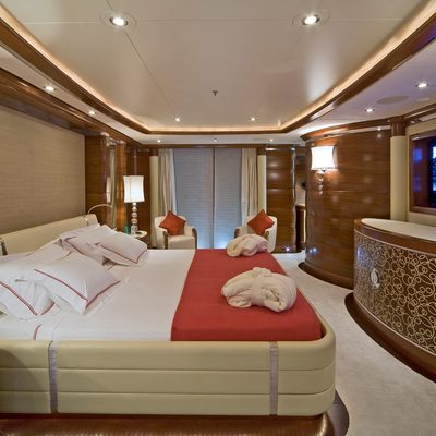 Latitude Yacht Red Guest Stateroom - Side
