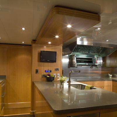 Impromptu Yacht Galley