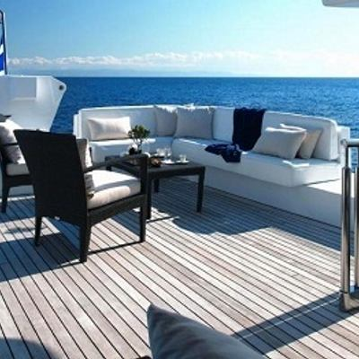 Carmen Serena Yacht Sundeck