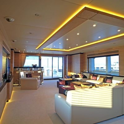 Tatiana I Yacht Main Salon