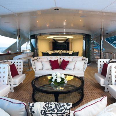 Quite Essential Yacht Exterior Seating