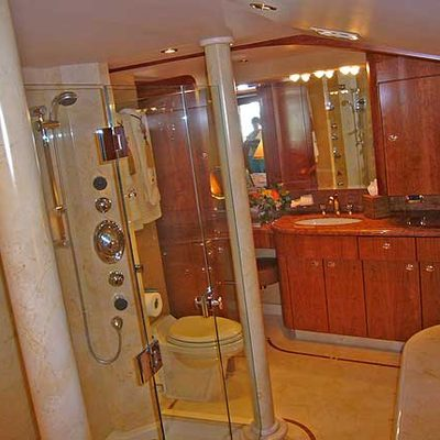 Arms Reach Yacht Shower Room
