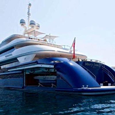 Mary-Jean II Yacht Tender Storage