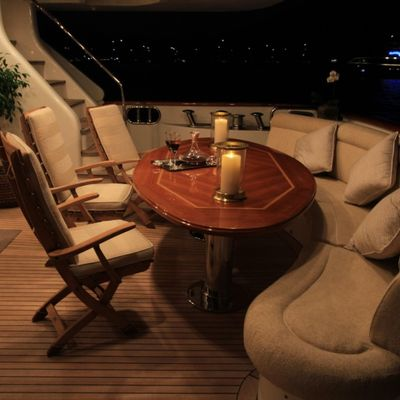 Brunello Yacht Main Deck Stern