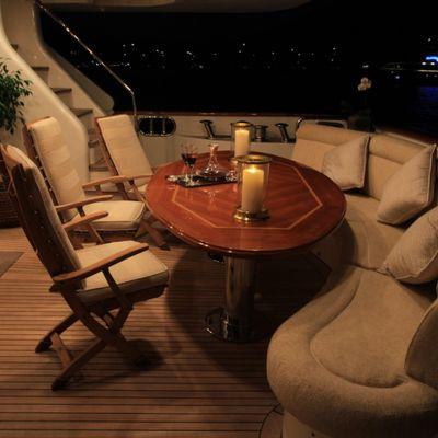 Brunello Yacht Main Deck Stern
