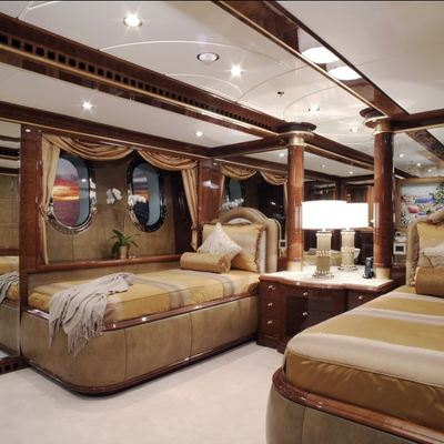 Diamonds Are Forever Yacht Twin Stateroom