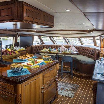 Watercolours Yacht