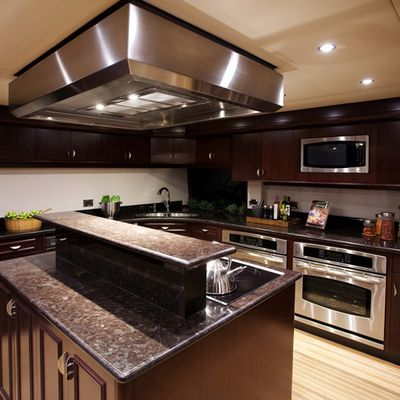 Liquidity Yacht Galley