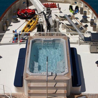 Seawolf Yacht Jacuzzi