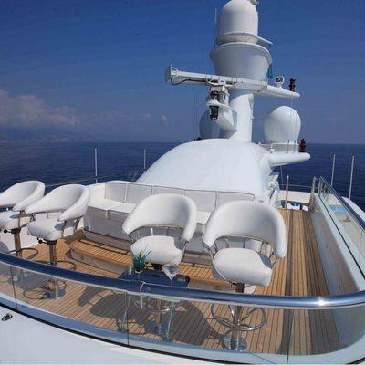 Nomad Yacht Observation Deck