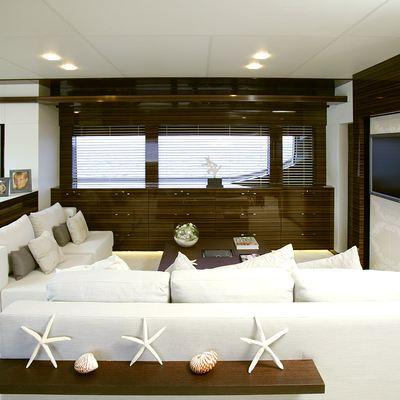 Gems II Yacht Salon Seating