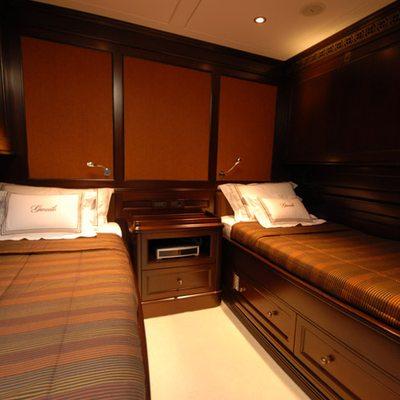 Gweilo Yacht Twin Stateroom
