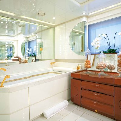 Bad Girl Yacht Master Bathroom